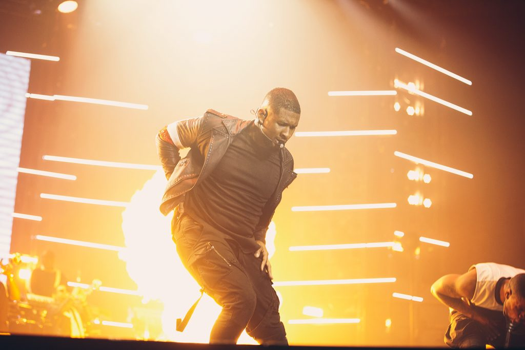 Manchester London Auckland Music Photographer Usher URX Tour