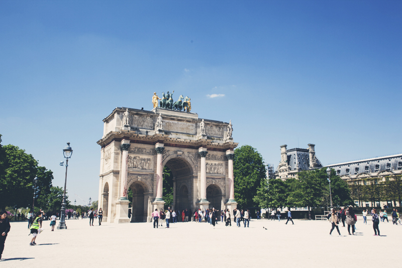 Arc De Triomphe by day