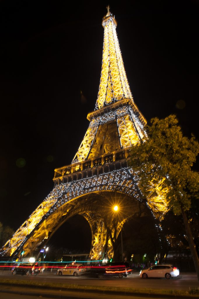 Eiffel Tower by night❤