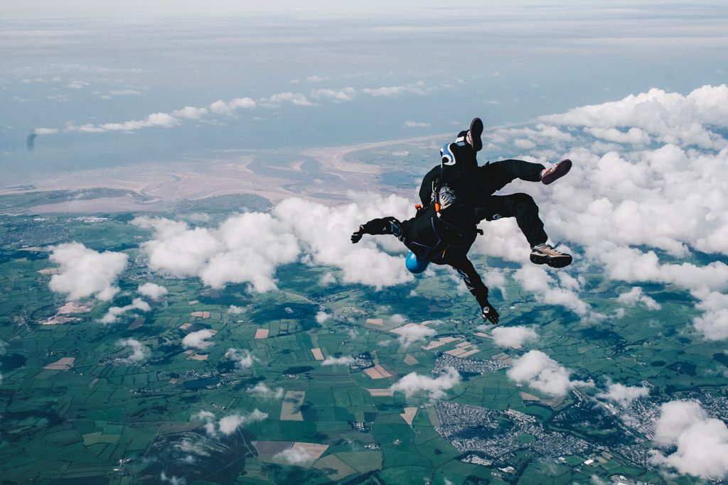 Skydiving in Cumbria UK
