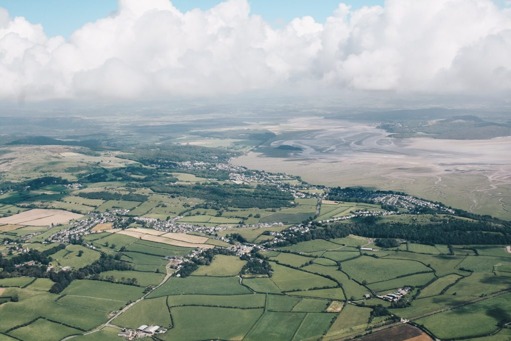 Skydiving in Cumbria