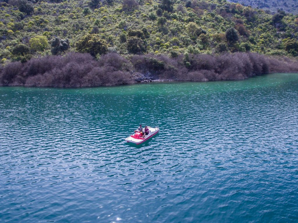 Kournas Lake Crete Greece