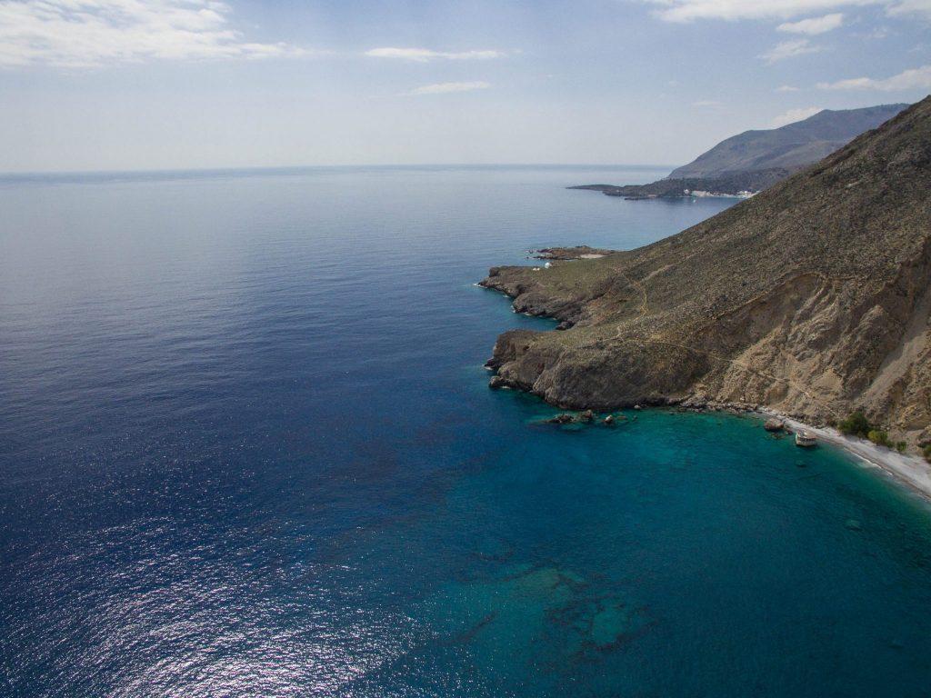 Glyka Nera Beach Sweet Water Beach Crete Greece