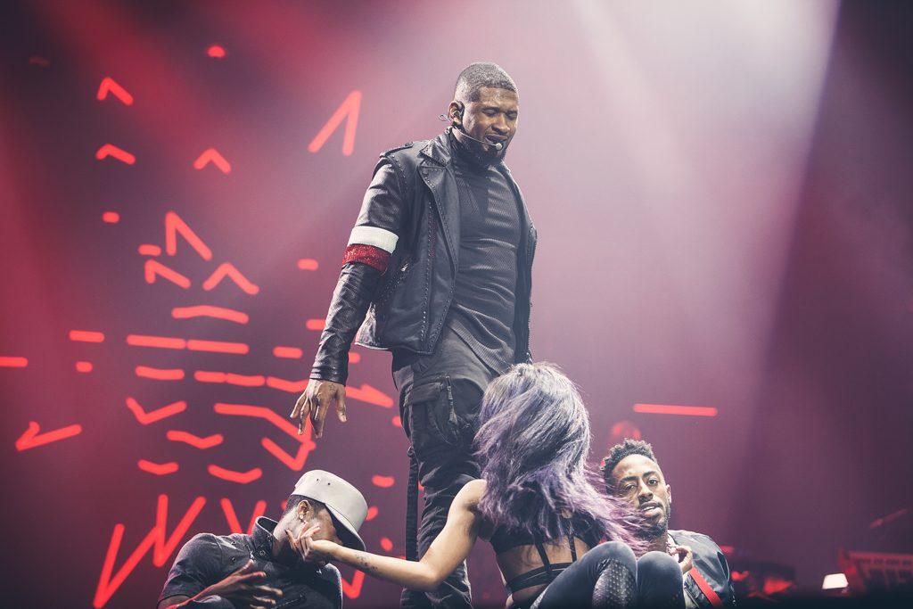 Manchester London Auckland Music Photographer Usher URX Tour
