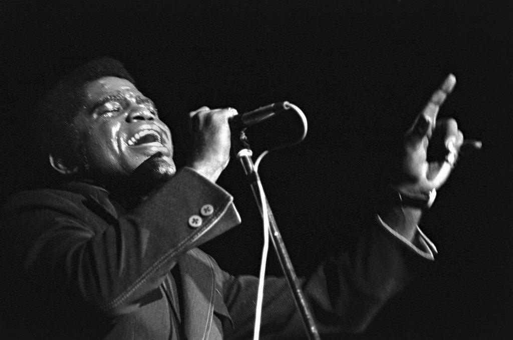 James Brown by Baron Wolman - Photo ©Baron Wolman/Iconic Images