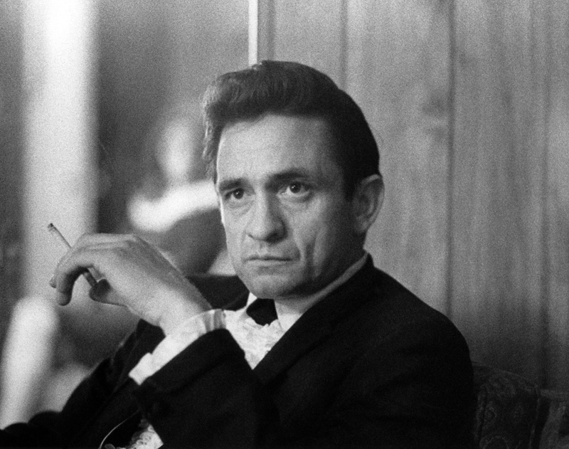 Johnny Cash by Baron Wolman