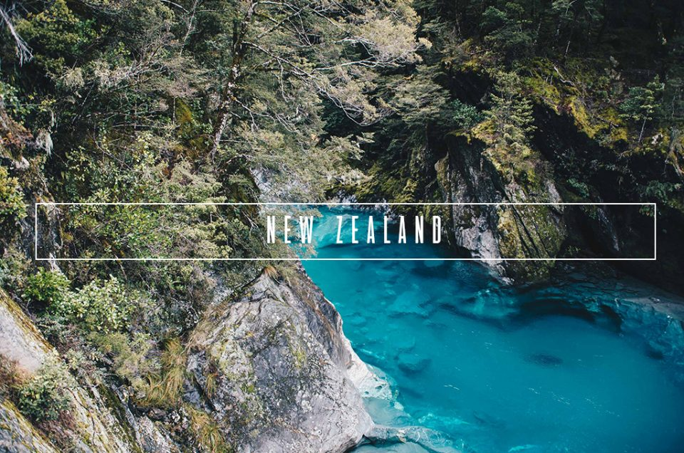 New Zealand – North Island & South Island