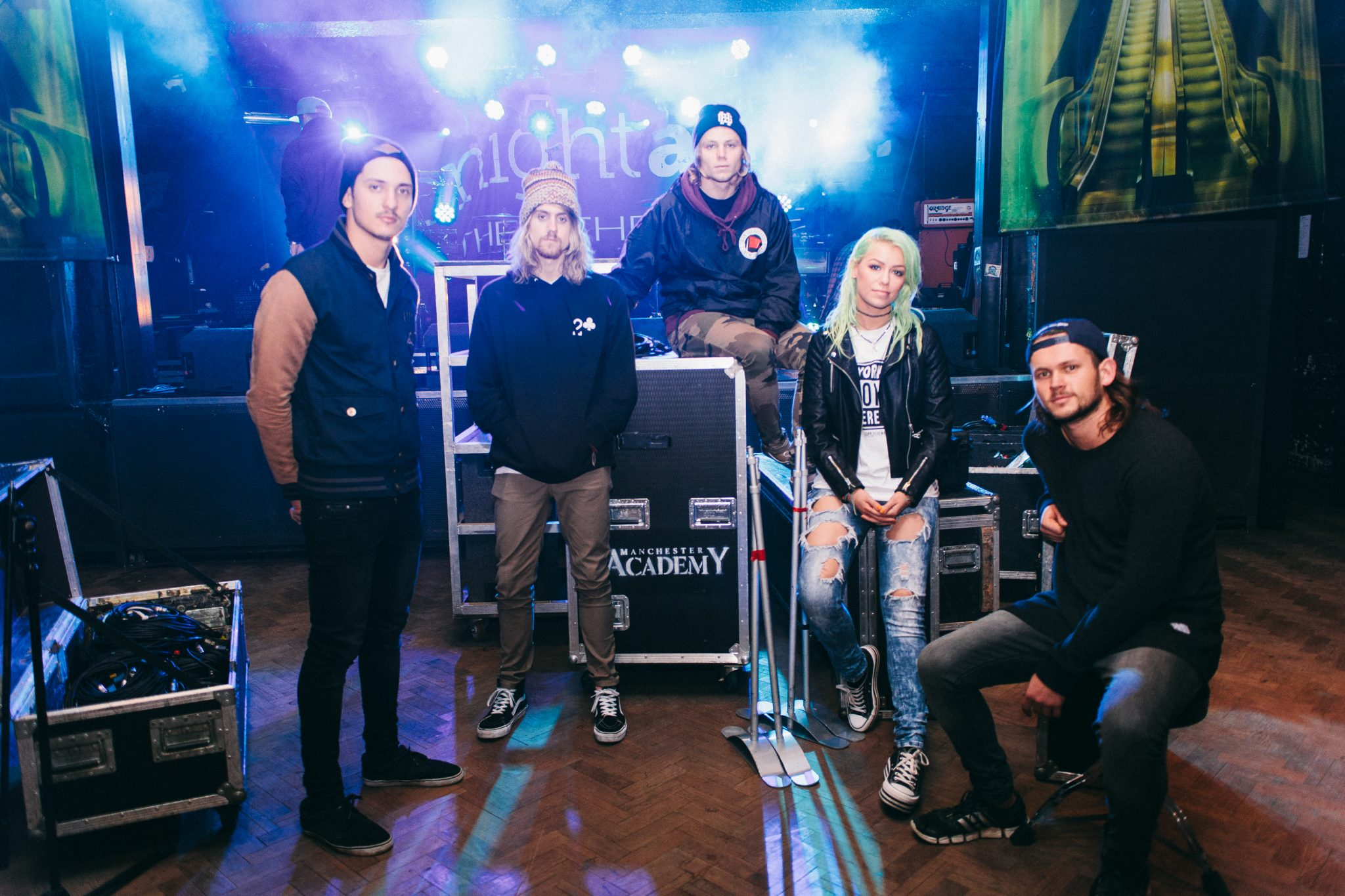 london music photographer tonight alive