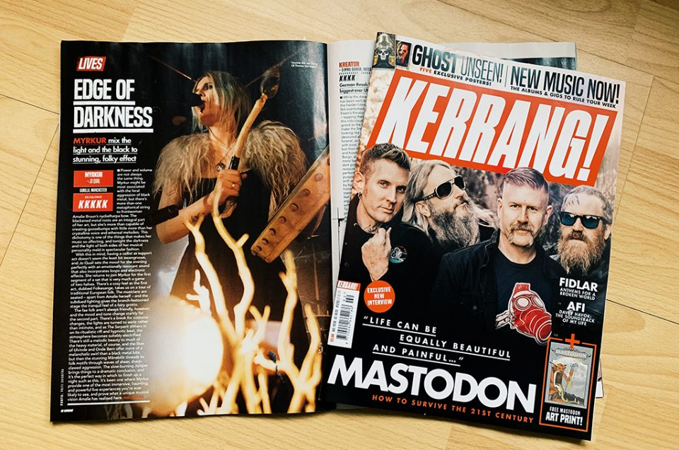 Myrkur for Kerrang! Magazine