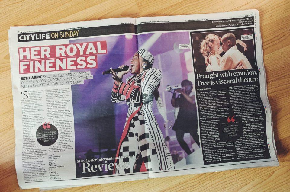 Janelle Monae - Manchester Evening News