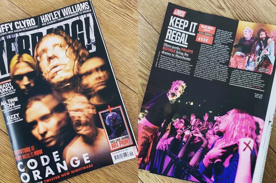 Palaye Royale for Kerrang! Magazine