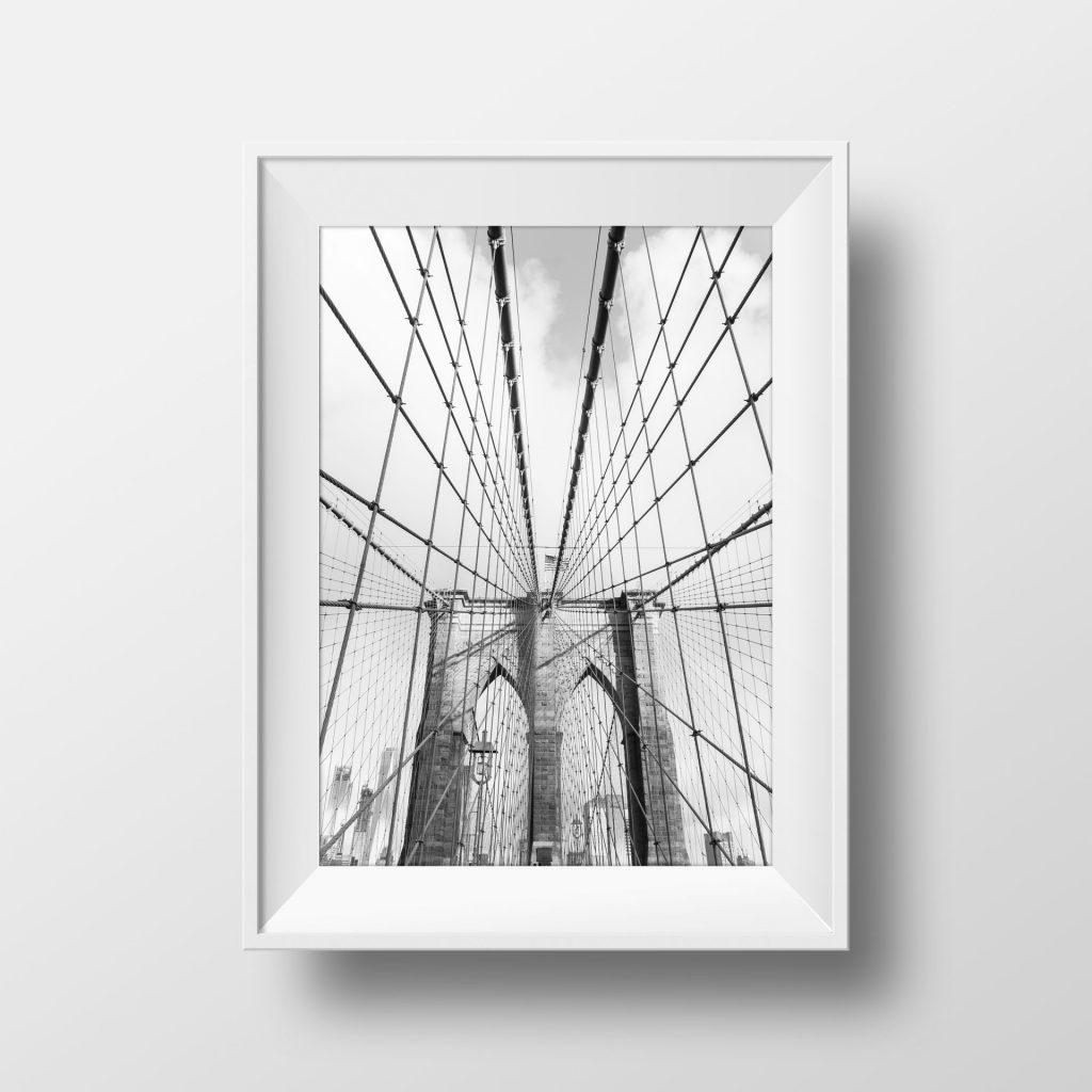 manchester prints brooklyn bridge prints